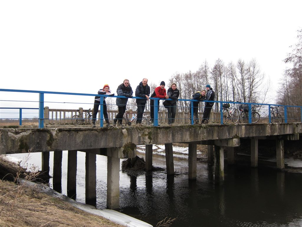 Причал, Мост 777
